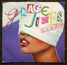 """GRACE JONES """"ON YOUR KNEES"""" (1979)"""