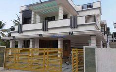 2000 square feet house for sale at Shanthipuram near Njandoorkonam