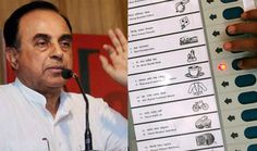 Dr Subramanian Swamy demanded an independent committee should be appointed to investigate the authenticity and security of EVMS as they are tamper-prone. Swamy gave the examples of how the United States, United Kingdom, Japan, Germany and Netherlands have abandoned the method and have resorted to paper-ballot system. It was because of Swamy's efforts that Voter-Verified Paper Audit Trail (VVPAT) was introduced in 2014 Lok Sabha Elections.