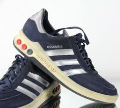 pretty nice 5e3e2 03686 Vintage ADIDAS Columbia UK 8,5 - Made in West Germany 80s originals harvard  bern