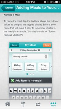 Dialysis Nutrient Tracking Made Easy: Download the Free Kidney APPetite App