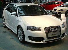 Audi S3 8P 2006-heden 2gen