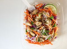 Trader Joe's Copycat Thai Salad Is Packed With Protein