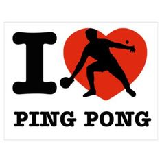 I love Ping pong Poster Tennis Funny, Cute Couple Wallpaper, Tennis Elbow, Play Tennis, Badminton, Humor, My Love, Memes, Poster