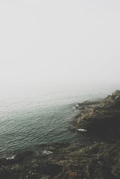 Fog used to be ominous. But now it's so incredibly beautiful. All I see is peace, and a reminder of the sweetest dream th...