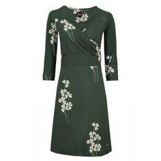 Tante Betsy jurk Lemonade Field Green - Lillefant