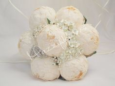 Wedding bouquetbridal bouquetpaper flower by Mazziflowers on Etsy