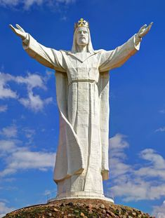 Christ the King (Polish: Pomnik Chrystusa Króla) is a statue of Jesus Christ in Swiebodzin, Poland, completed in 2010.  It is the tallest statue of Jesus in the world