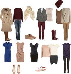 """Soft Autumn Wardrobe"" by sduba on Polyvore"
