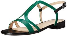 Nine West Women's Whollymole Leather Dress Sandal