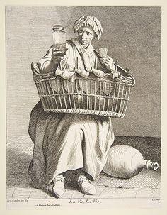 Brandy Seller, Paris, 1737, Anne Claude Philippe de Tubières, Comte de Caylus  (French, Paris 1692–1765 Paris)