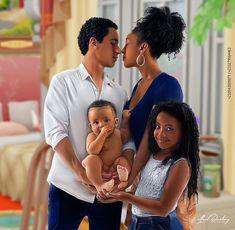"BLACK COUPLES ART on Instagram: ""By @alfred_darling_art_gallery 🔥🔥🔥😍😍😍 Follow @blackcouplesreal @blackcouplesart @africadopeart 📷 . . . . #illustration #colombia #world…"" Sexy Black Art, Black Girl Art, Black Women Art, Black Love Artwork, Black Art Painting, Black Couple Art, Black Couples, Black Girl Cartoon, Cartoon Girl Drawing"