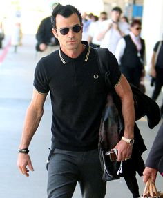 Justin Theroux Mr. Aniston meets Fred Perry