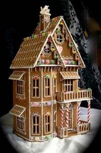 Sugar Shacks: Architecturally Compelling Gingerbread Houses