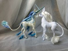 Reserved for Kait Last Unicorn of the Sea partial от Pentip The Last Unicorn, Baby Unicorn, Needle Felted Animals, Needle Felting, Cute Fantasy Creatures, Unicorn Pictures, Creative Arts And Crafts, Unicorn Crafts, Polymer Clay Animals