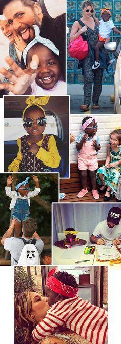 a bandana é o acessório favorito de titi, filha de giovanna ewbank e bruno…