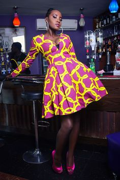 nice Gigi plunge Dress(yellow) by http://www.redfashiontrends.us/african-fashion/gigi-plunge-dressyellow/