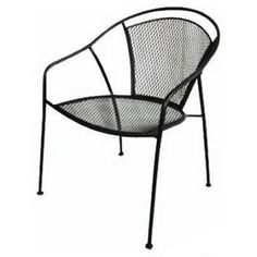 Uptown Collection Patio Bistro Chair, Steel Mesh: Model# WI 105 | True