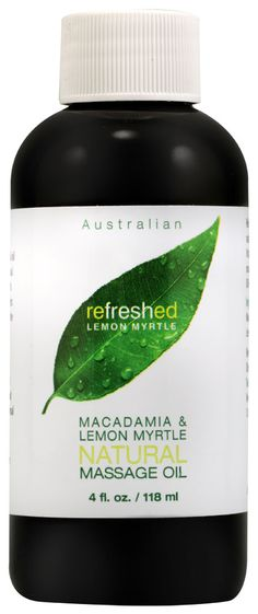 Tea Tree Therapy Macadamia and Lemon Myrtle Natural Massage Oil