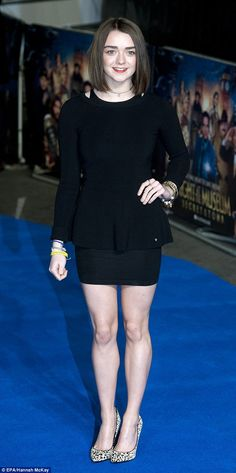 Maisie Williams 'impatient' with Emma Watson's first world feminism' #dailymail