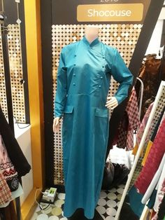Gamis 064 Rp550 000.00 Material : Cotton, Size : Fit to L, Qty : 6pcs Only, Color : Green & Bluehttps://shocouse-identity.ecwid.com/#!/Gamis-064/p/100576386