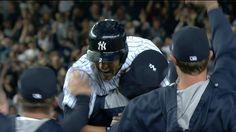 Derek Jeter frappe un simple pour la victoire en 9e manche et donne une dernière victoire aux Yankees à New York.