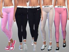 Leggings by Pinkzombiecupcakes at TSR • Sims 4 Updates