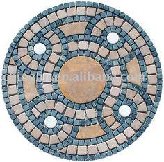 3 Mosaic Artwork, Mirror Mosaic, Marble Mosaic, Mosaic Glass, Mosaic Tiles, Mosaics, Mosaic Flower Pots, Mosaic Garden, Mandala Pattern