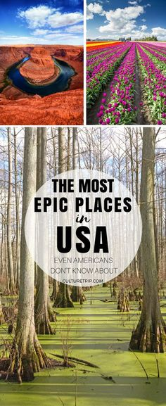 16 Epic Places in the United States Even Americans Don't Know About|Pinterest: theculturetrip