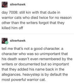 Simple and Modern Ideas: Cat House Garage big cat teeth. Warrior Cat Memes, Warrior Cats Series, Warrior Cats Books, Tumblr Funny, Funny Memes, Hilarious, Cat Anatomy, Cat Plants, Cat Shelves