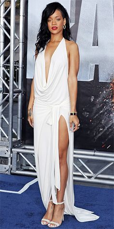 Look of the Day - May 11, 2012 - Rihanna in Adam Selman from #InStyle