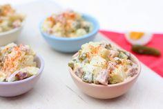 Love Food, A Food, Lunch Restaurants, Shrimp Avocado Salad, Dutch Recipes, Healthy Family Meals, Party Snacks, High Tea, Salad Recipes