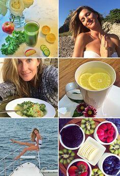 Le régime alimentaire 100% healthy sain de Gisele Bündchen idées recettes, cures de jus, cure détox, minceur