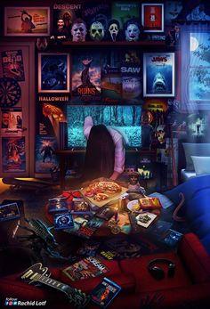 Horror Movies - It - Carlotta Gaming Wallpapers, Movie Wallpapers, Animes Wallpapers, Horror Icons, Horror Movie Posters, Film Posters, Rock Posters, Horror Vintage, Horror Room