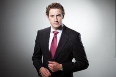 Businessportrait im Fotostudio