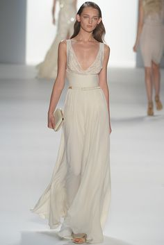Look 7 #eliesaabss2012parisfashionweek-could be great for a beach-bound bride