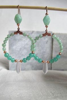 Moois van ' M(i)e': juwelen : MAAK HET ZELF : hoops
