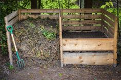 Le composteur, le meilleur ami du jardinier.