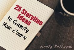 Want to start gamifying your online course but you need a bit of inspiration? Here are 25 fun ideas for creating a story or theme for your course.  The storyline in a gamified course works like this:  The story or theme runs throughout the