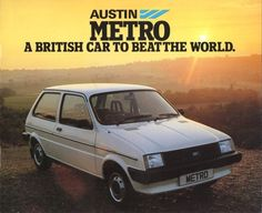 A British Car to Beat the World Classic Cars British, British Car, Classic Mini, Rover Metro, Austin Cars, Cars Uk, Poster Ads, Commercial Vehicle, Car Videos