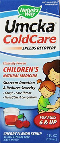 Nature's Way Umcka Coldcare Children's Cherry Syrup, 4-ounce >>> Check out the image by visiting the link.