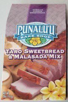 Punalu'u Bake Shop Taro Hawaiian Sweetbread and Malasada (Donuts) Mix Hawaiian Cookies, Donut Mix, Gourmet Recipes, Snack Recipes, Sweet Bread, Pop Tarts, Donuts, Bakery, Favorite Recipes