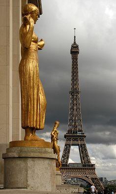The Eiffel Tower (French: La Tour Eiffel, Paris, France. Torre Eiffel Paris, Paris Eiffel Tower, Eiffel Towers, Beautiful Paris, I Love Paris, Paris Paris, Montmartre Paris, Paris Travel, France Travel