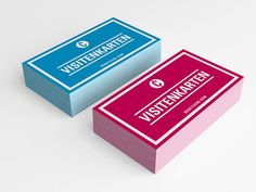 Business Cards • Visitenkarten