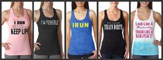 Bundle of 5 Runnin and Training Racer Back Work by AmarisCloset, $125.00