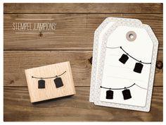 #Stempel mit #Lampions