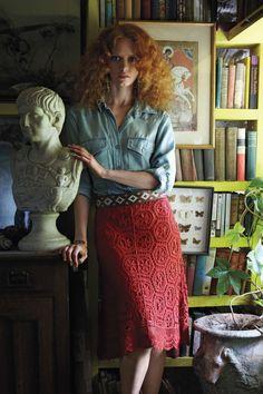 Doily Lace Skirt | Anthropologie.eu
