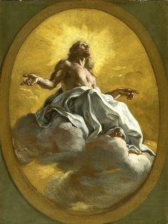 Giovanni Battista Gaulli (Il Baciccio), Christ in Glory, late 17th century