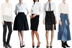 Fall Trends The Little White Shirt - Fearless Fashionista Las Vegas