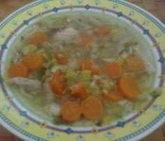Rezept Schnelle Hühnersuppe all in one von schneckee - Rezept der Kategorie Suppen